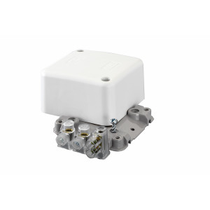 JUNCTION BOX STD WH 4X40A BAGGED