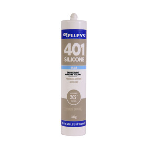 SILICONE 401 CLEAR 310G SELLEYS