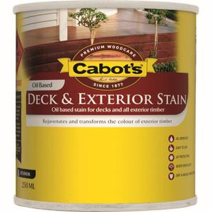 Deck &Exterior Oil Stain New Jarrah 4L 82665006 Cabots