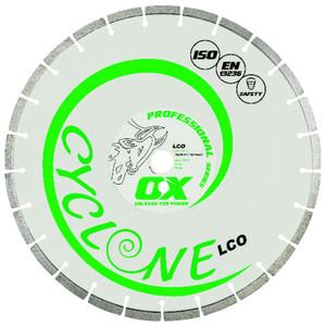Blade Diamond 350mm LCO      Segmented OX-LCO-14 Ox-Group