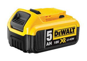 Battery 18v 5.0Ah Li-Ion XR DCB184-XE Dewalt