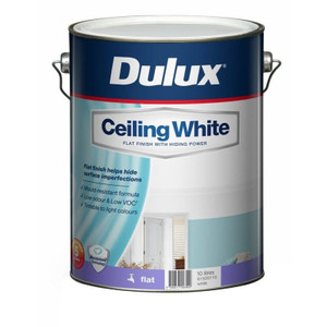Paint Ceiling White 10L 615D0115 Dulux