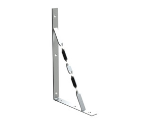 AIR COND STAYED BRACKET ZINC 500X300X37mm