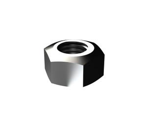 Nut Hex ISO SS316  M8 SnapPk5 NHHM60800N4 Bremick