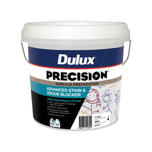 Paint Advanced Stn &Odr Blocker  4L Precision 50SX391A Dulux