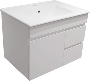 Vanity Floor Mount 700 RH Drawer VC Basin JFR900F Fresco