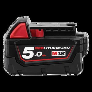Battery 18v 5Ah Extended Capacity Carton M18B5 Milwaukee