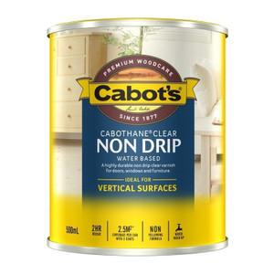 Cabothane Non Drip Clear 500ml Gloss 539W0305 Cabots