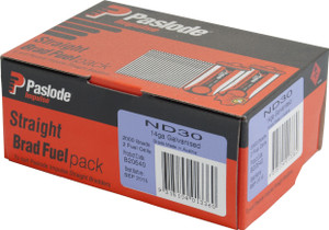 Brads/Fuel Impulse Pack ND   30mm 2000bx B20640 Paslode