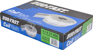 Nails Coil 27mm x2.1mm Gal  Duo Fast 3600 D40210 Paslode