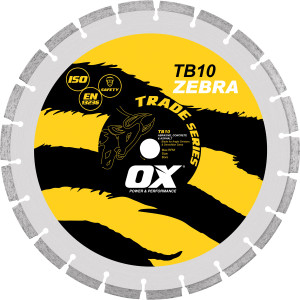 "Blade Diamond Trade 9"" G/P /Concrete OX-TC10-9 Ox-Group"