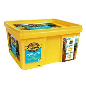Aquadeck Natural 5L Ready Bucket 567W0196 Cabots