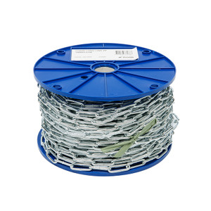 CHAIN LONG LINK ZINC PLATED