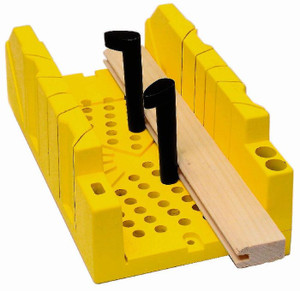 BOX MITRE YELLOW STANLEY