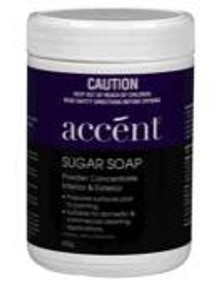 CLEANER SUGAR SOAP POWDER 600G ACCENT