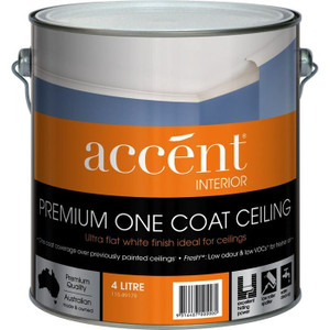 ACCENT 1 COAT CEILING WHT 4L