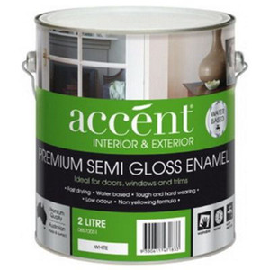 ACCENT INT S/GLOSS ENAMEL WHT