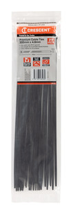 300X4.8MM CABLE TIE BLK