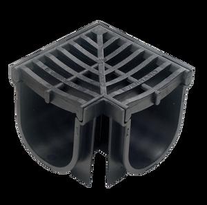 CORNER COMPLETE BLACK 100X100