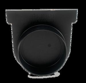 CAP END EASYDRAIN BLACK 100X100MM