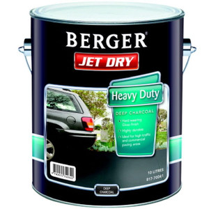 JETDRY GLOSS HD DEEP CHARCOAL 10L