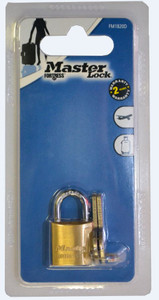 Master Lock Brass Economy Padlock