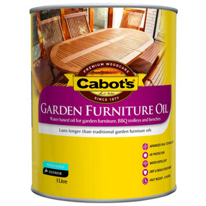 1L CABOTS FURNITURE OIL W/B
