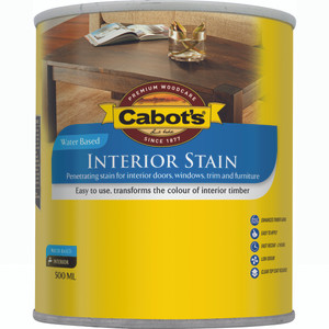 CABOTS INT STAIN W/B TINT 500ML