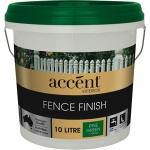 PINE GREEN ACCENT FENCE FINISH