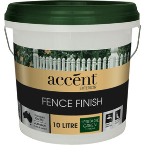 HERITAGE GREEN ACCENT FENCE FINISH