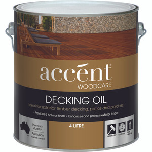 4L ACCENT DECKING OIL