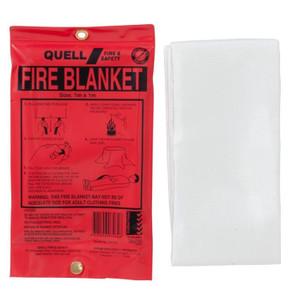 FIRE BLANKET FIBREGLASS 1M X 1M QUELL