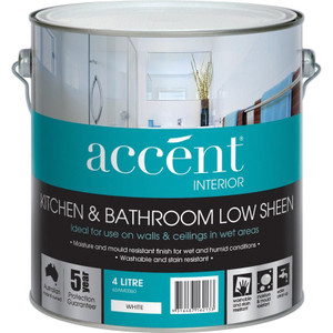 ACCENT INT K&B L/SHEEN WHITE