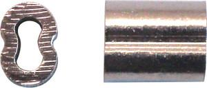 FERRULE WIRE ROPE 3.2MM COPPER PK2