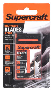 BLADE UTILITY KNIFE PACK OF 5