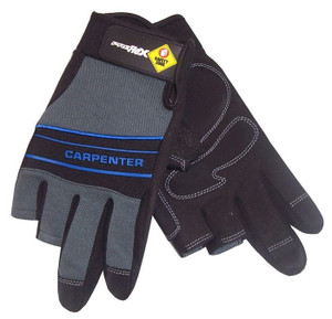 GLOVES CARPENTER MED-LRG PROFLEX