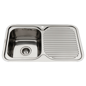 SINK KIT LH BOWL & DRN 780X480
