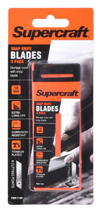 BLADE SPARE 18MM PK5