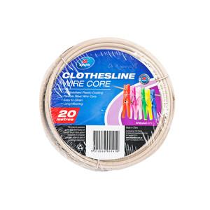 CLOTHESLINE PVC WIRE BEIGE