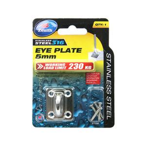 EYE PLATE SQ SS316 CD1