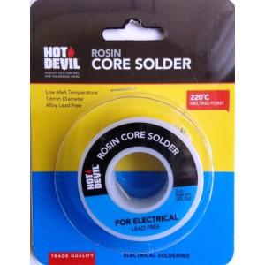 SOLDER ROSIN CORE.