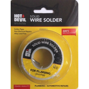 SOLDER SOLID WIRE