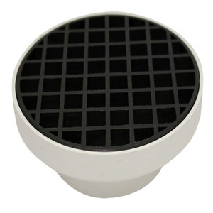 COLLAR STORM PVC FINISHING 90mm W/GRATE