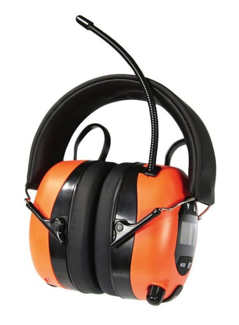 EARMUFFS AM/FM RADIO W/LCD AND B/TOOTH