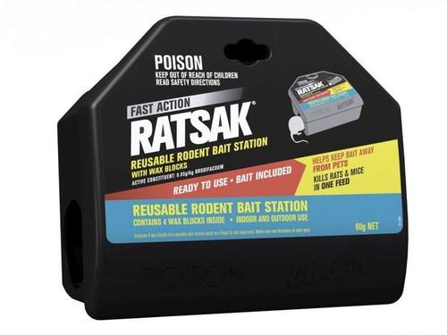BAIT STATION RODENT REUSABLE RATSAK