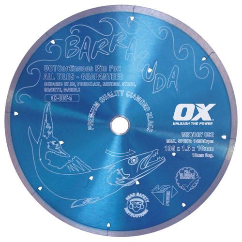 BLADE DIAMOND CONT RIM 4IN CERAMIC OX