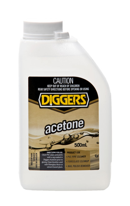ACETONE SOLVENT DIGGERS