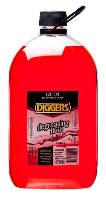 DEGREASING FLUID DIGGERS