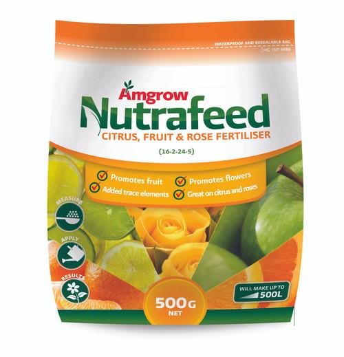 FERTILIZER CITRUS FRUIT/ROSE N/FEED 500G
