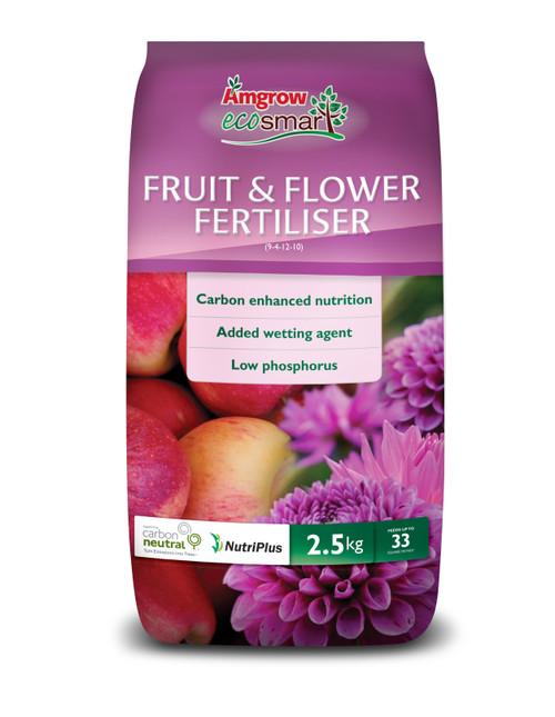 FERTILIZER FRUIT & FLOWER 2.5KG ECOSMART